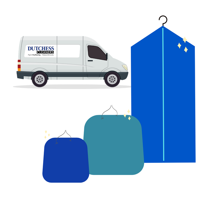 Dry cleaning delivered right to your door